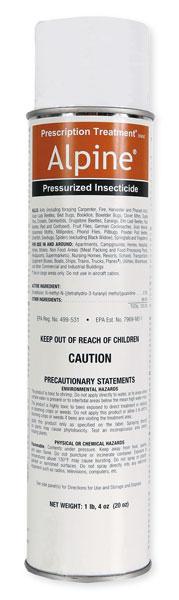Alpine Pressurized Insecticide Spray