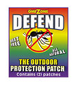 Defend Insect and Mosquito Repellent Patch