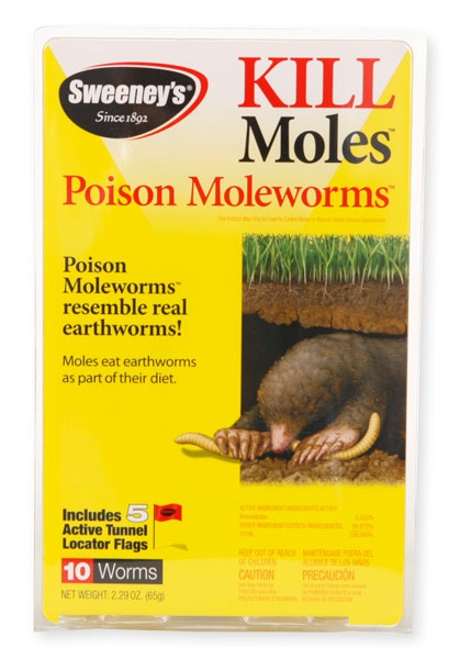 Sweeney's Poison Mole Worms