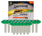 spectracide terminate termite detection killing stakes